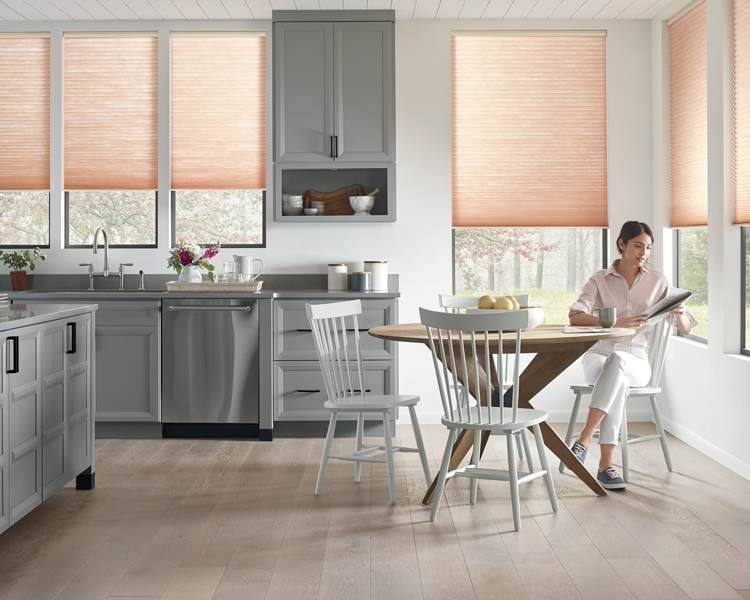 motorized blinds in Reno NV kitchen
