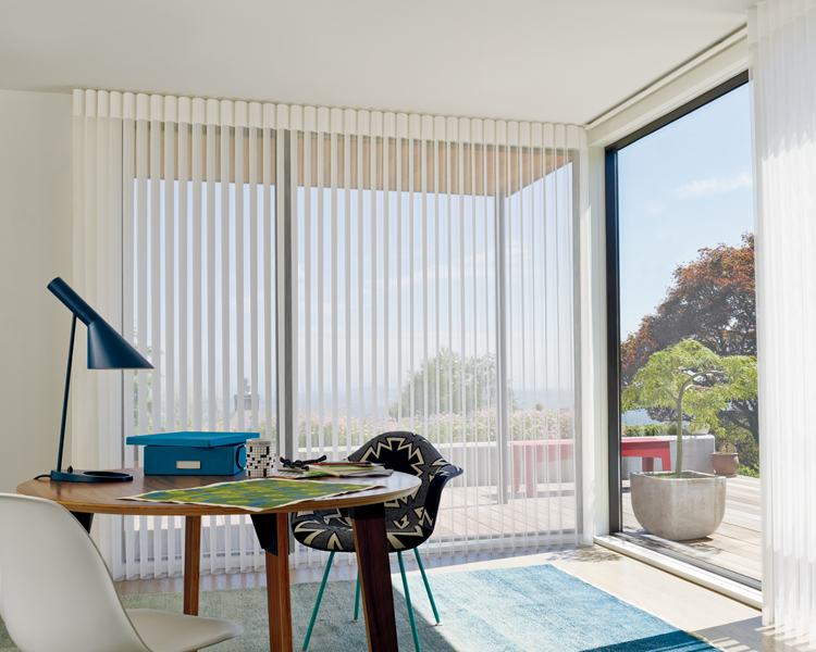sheer automated shades in home office Incline Village NV