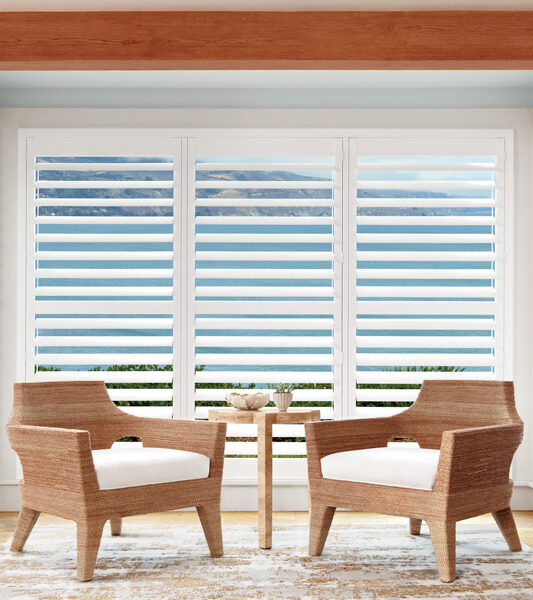breakfast nook with plantation shutters Reno NV