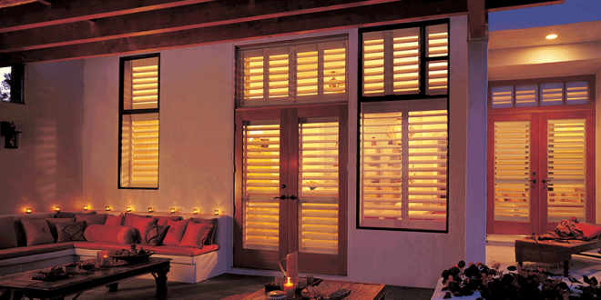 exterior view of home interior shutters Reno NV