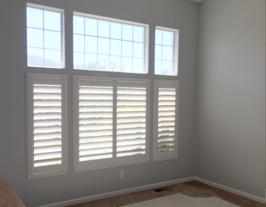 bedroom hunter douglas plantation shutters recent work Reno