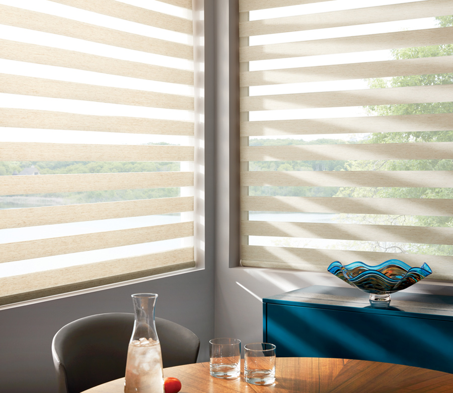 designer banded layered shades Reno NV
