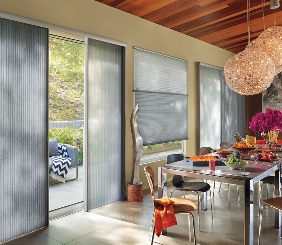 duette vertical shades for sliding glass doors Reno NV