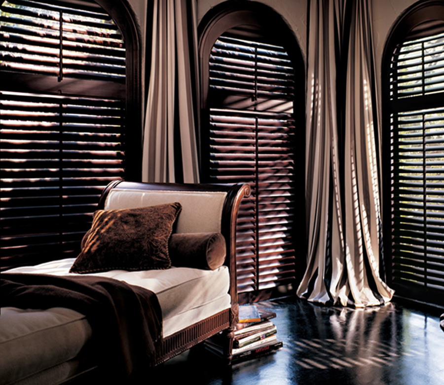 plantation shutters for arched windows Reno NV