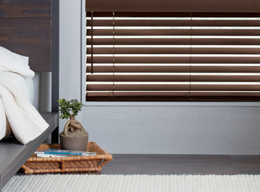 hunter douglas brown wood blinds Reno NV
