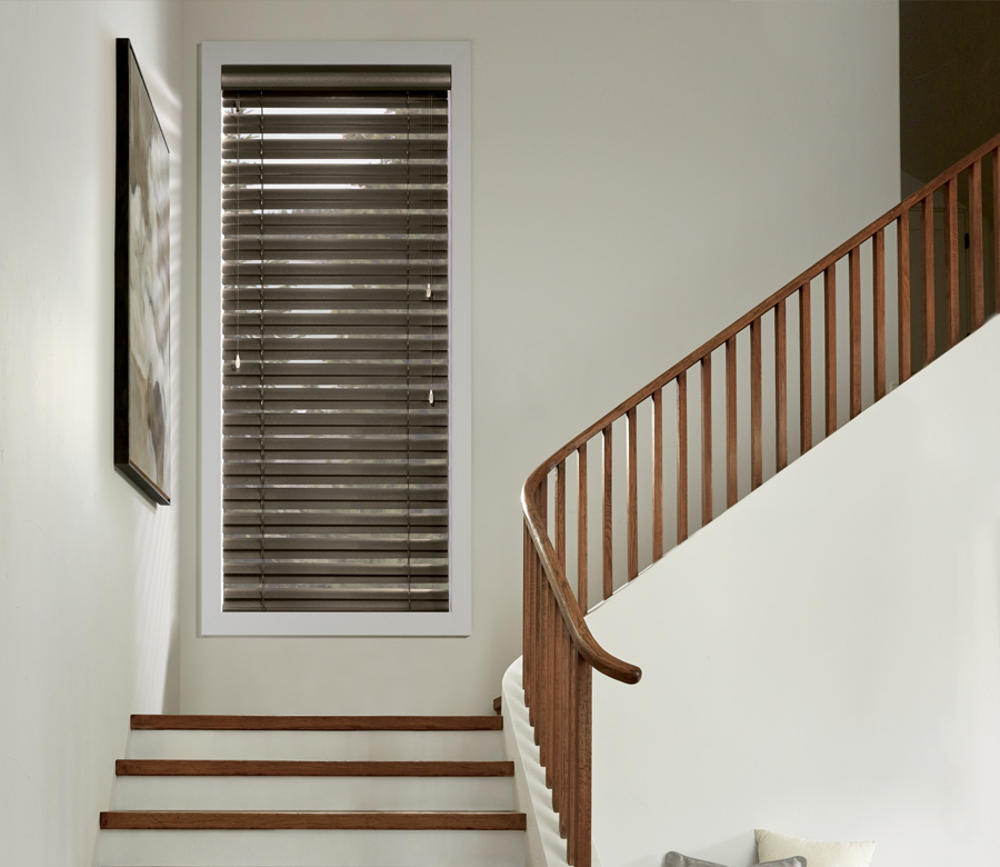 metal blinds on staircase in Incline Village NV