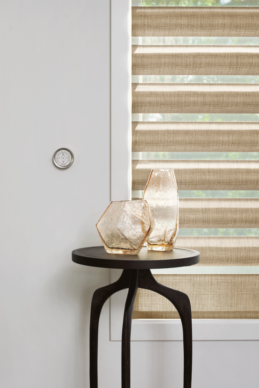 Gold pirouette shades to add to your Reno home.