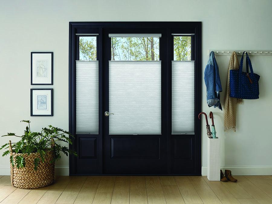 front door window treatments
