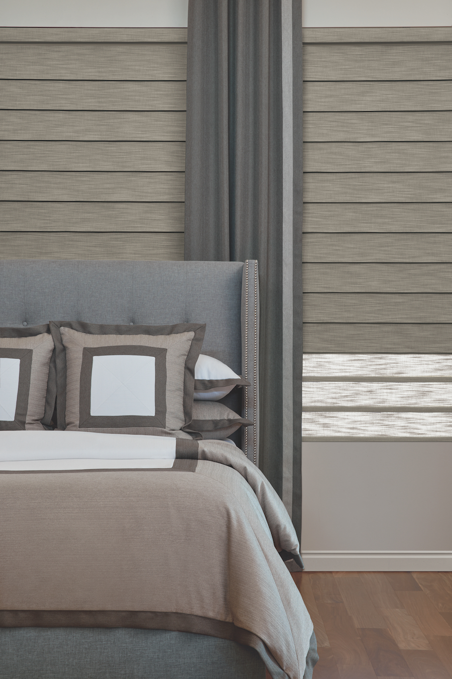roman shades with Duolite® the dual shades feature Reno NV