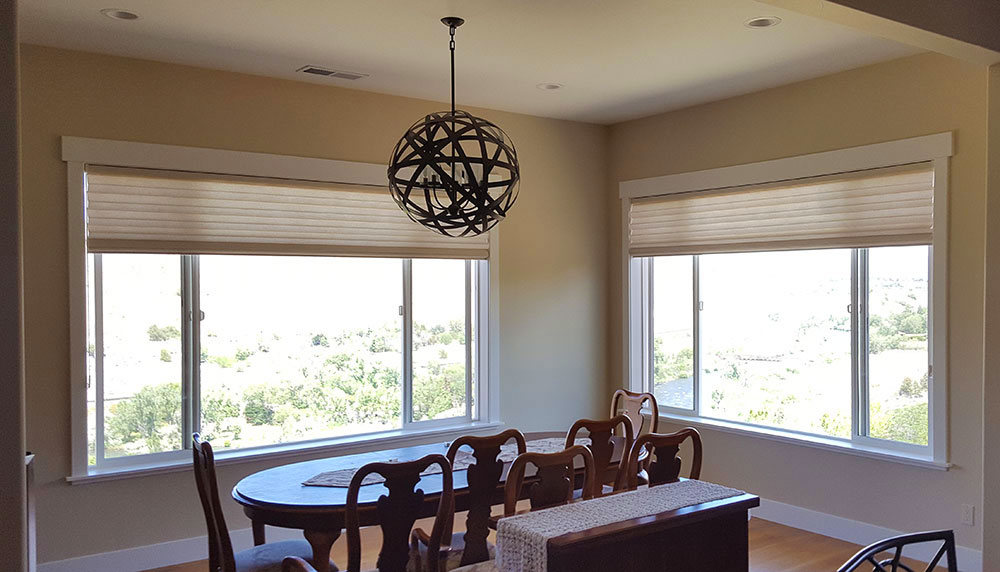 modern dining room solera soft shades reno NV
