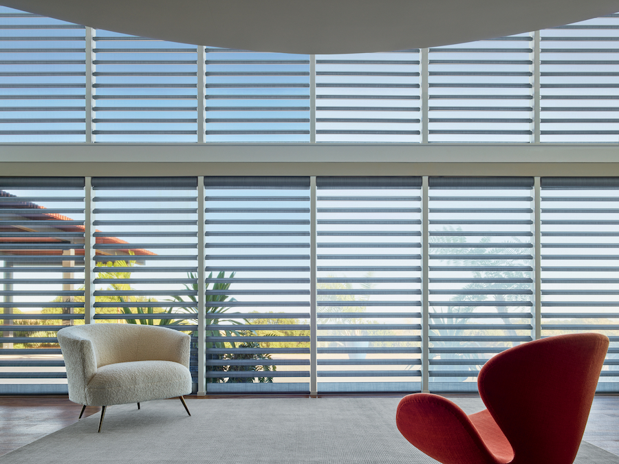 clearview and pirouette window shades
