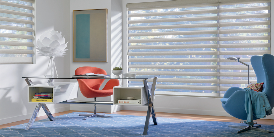 the pirouette shades dazzles with style and function