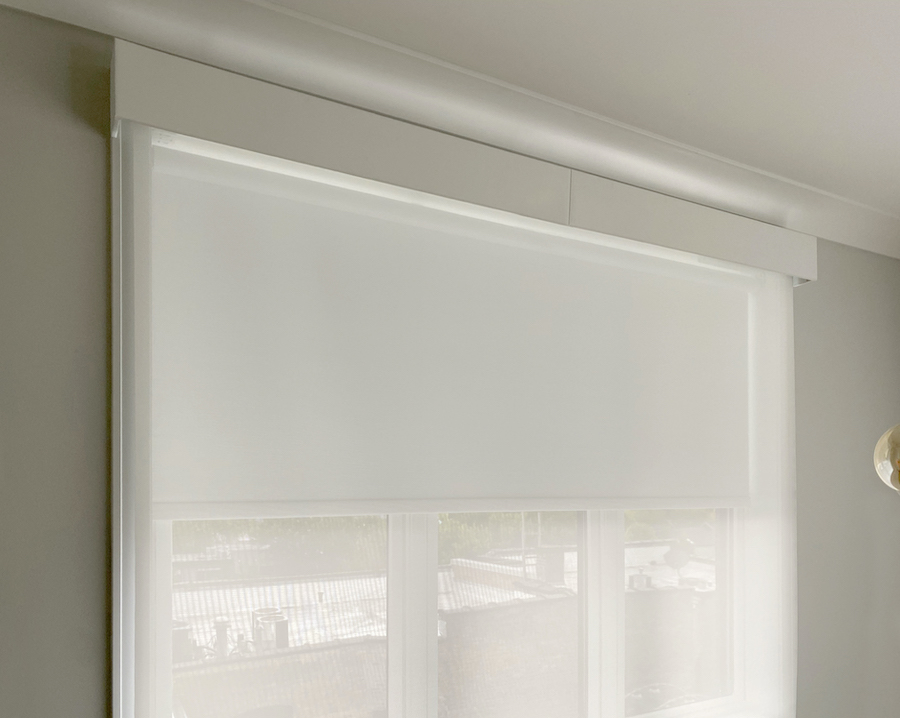 Motorized shades with the latest charging innovations.