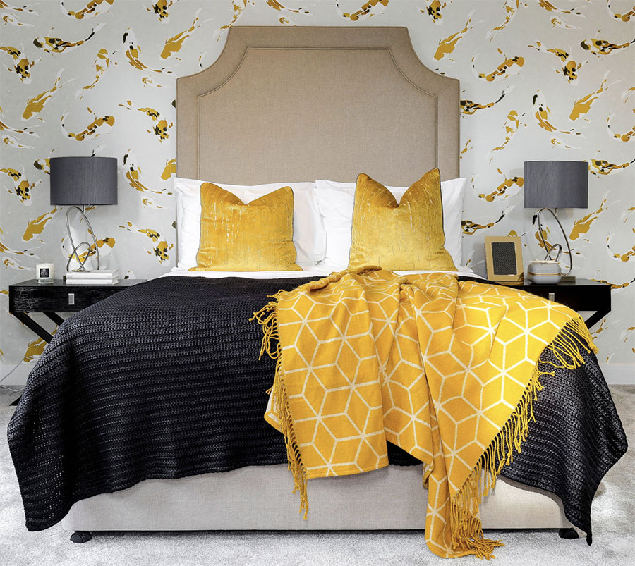 color of the year in bedroom