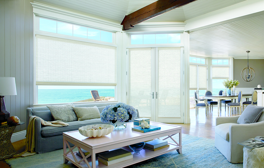 covering french doors with woven wooden shades in Reno, NV