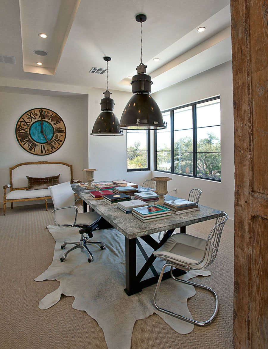 Flex space of dining room and home office