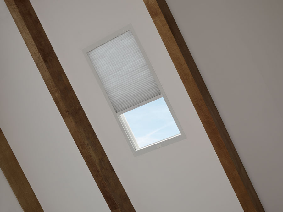 tricky skylight shown with Skylift treatment in reno, NV home