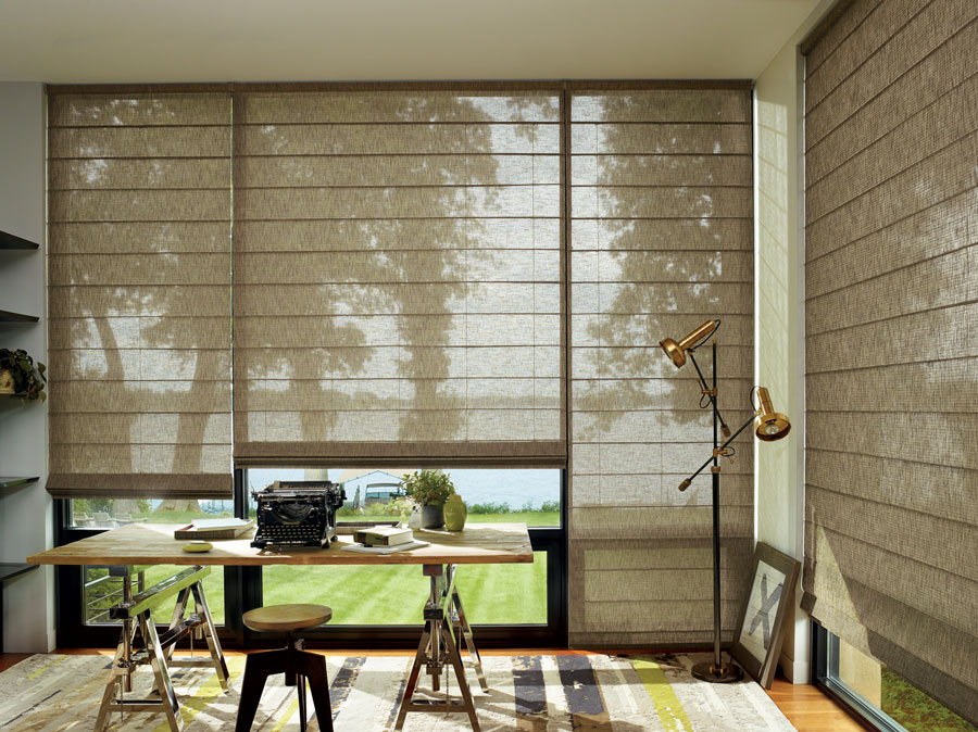 Alustra Woven Textures in a home office