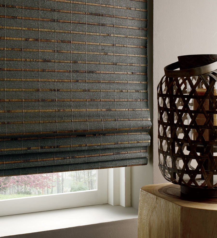 inky black woven shade in these fabrics elevate your home in Reno, NV